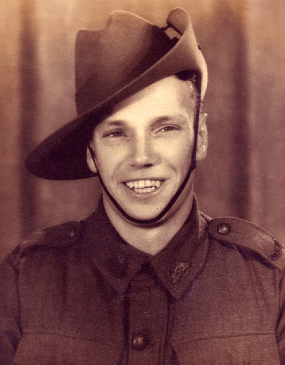 Dick Braithwaite, 1940.