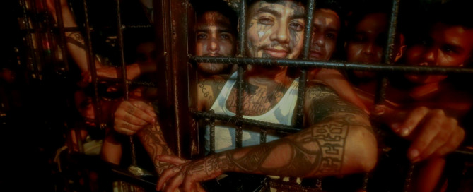 18th Street gang members behind bars in El Salvador