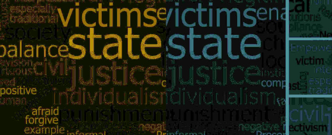 word cloud justice